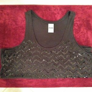 ⭐Sale⭐ VS Pink Sequins Tank.  PRICE FIRM!!!!
